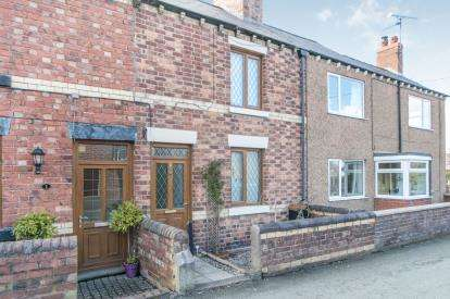 2 Bedrooms Terraced House for sale in London Road, Sychdyn, Mold, Flintshire, CH7