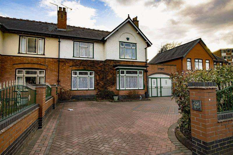 5 Bedrooms Semi Detached House for sale in Sutton Road, Walsall.