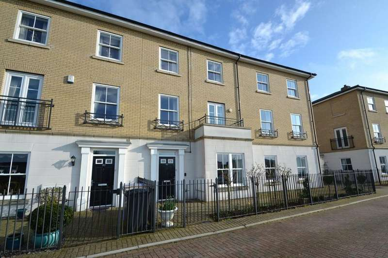 4 Bedrooms Town House for sale in Bonny Crescent, Ipswich, IP 9UN