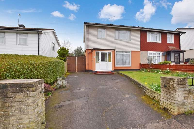 3 Bedrooms Semi Detached House for sale in Barfields, Loughton