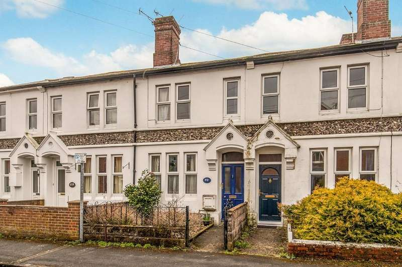 3 Bedrooms Terraced House for sale in St. Catherines Road, Winchester, SO23