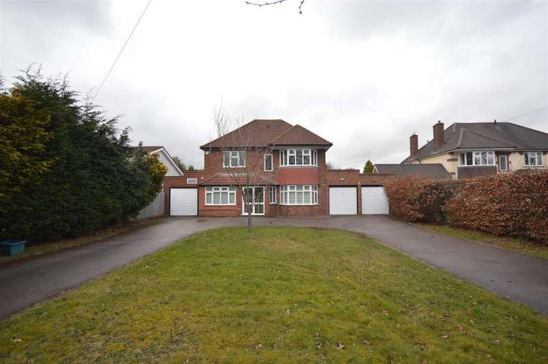 4 Bedrooms Detached House for sale in Coleshill Road, Marston Green, Birmingham