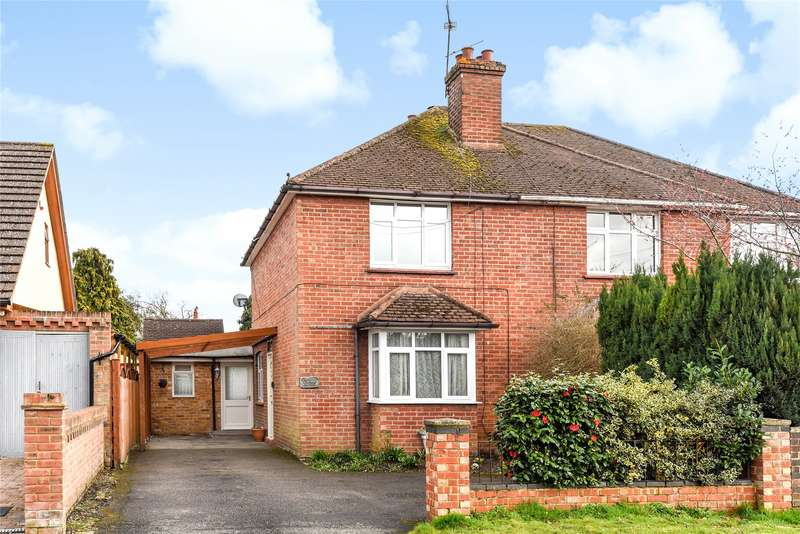 2 Bedrooms Semi Detached House for sale in Park Road, Sandhurst, Berkshire, GU47