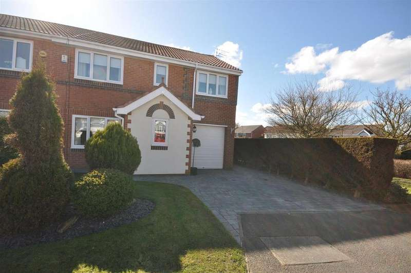 4 Bedrooms Semi Detached House for sale in Leyfield Close, The Downs, Sunderland