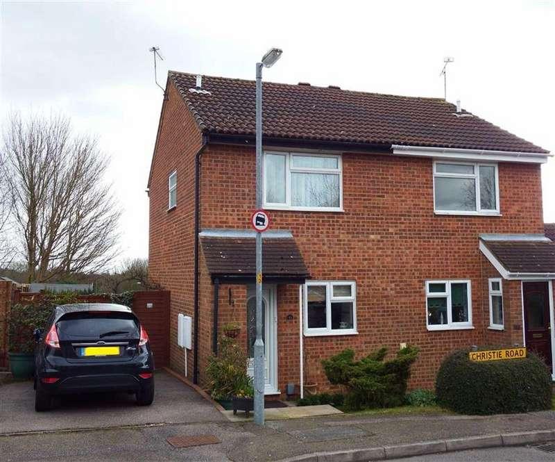 2 Bedrooms Semi Detached House for sale in Christie Road, Stevenage, Hertfordshire, SG2
