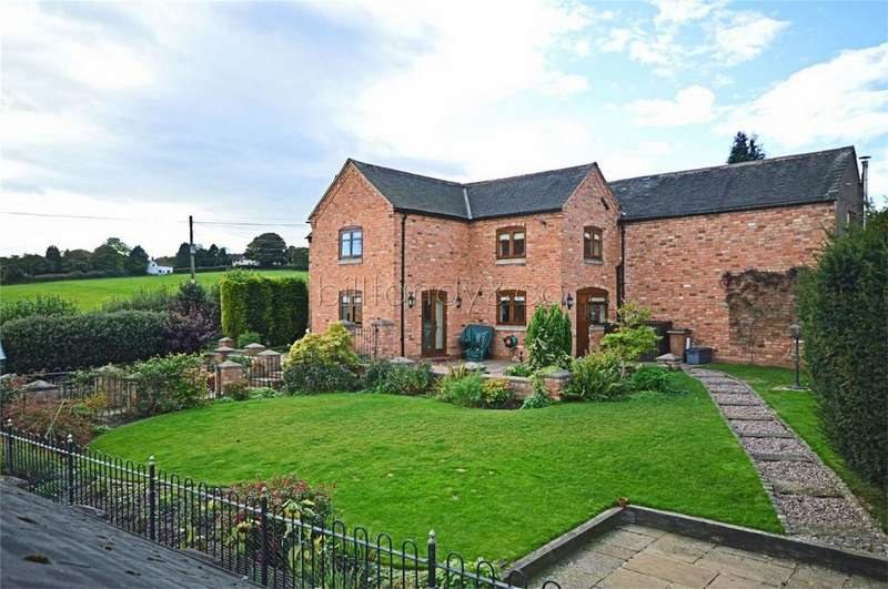 3 Bedrooms Semi Detached House for sale in Chapel Lane,, Gentleshaw, Rugeley, Staffordshire