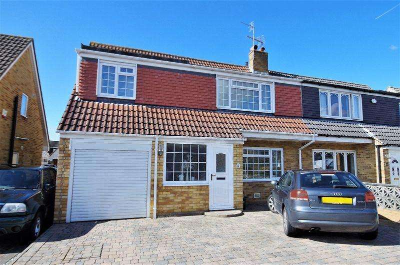 4 Bedrooms Semi Detached House for sale in Standish Avenue, Stoke Lodge, Bristol