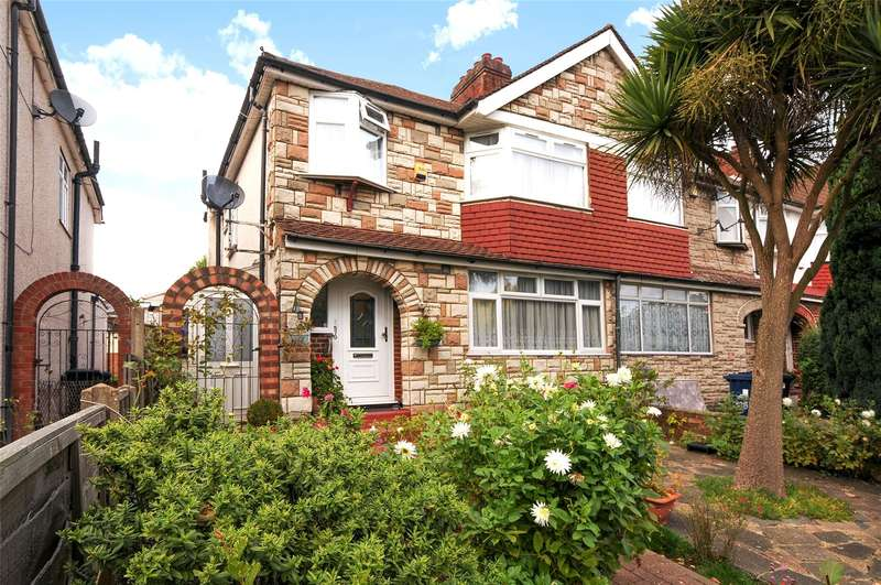 3 Bedrooms End Of Terrace House for sale in Whitton Avenue West, Greenford, UB6