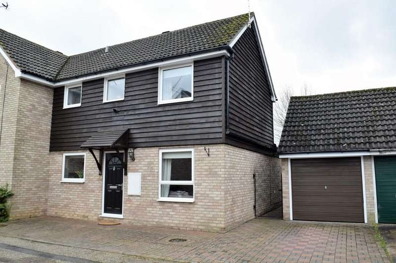 3 Bedrooms Semi Detached House for sale in Harwood Avenue, Thetford
