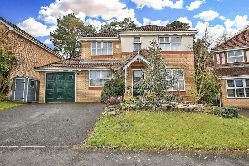 4 Bedrooms Detached House for sale in Hastings Crescent, Old St. Mellons, CARDIFF