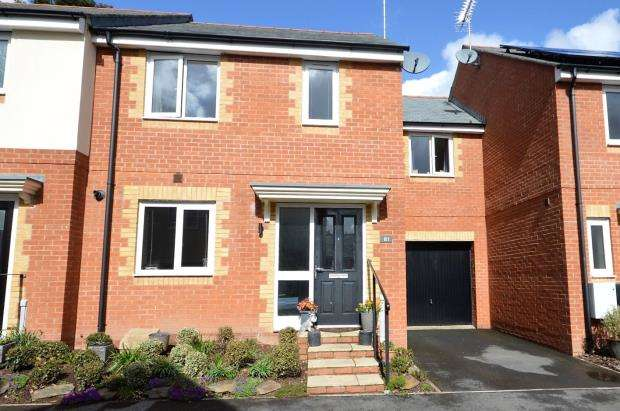 3 Bedrooms Terraced House for sale in Templer Place, Bovey Tracey, Newton Abbot, Devon