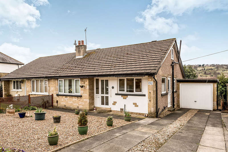 3 Bedrooms Semi Detached Bungalow for sale in Bradford Road, Riddlesden, Keighley, BD20