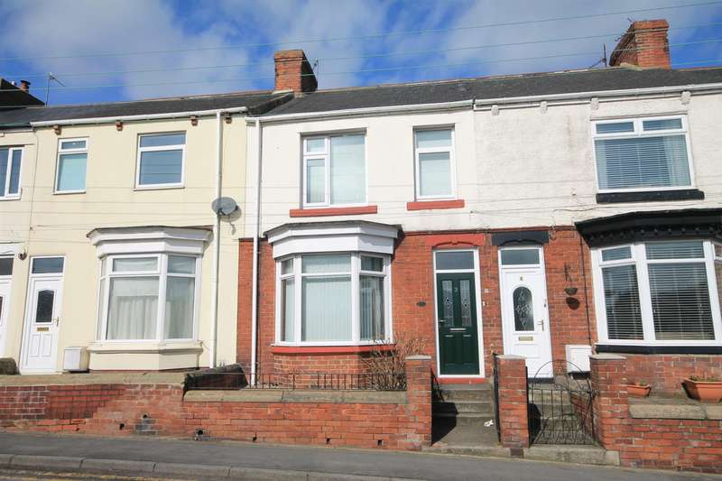 3 Bedrooms Terraced House for sale in Louisa Terrace, Witton Gilbert, Durham