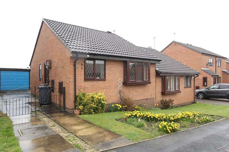 2 Bedrooms Semi Detached Bungalow for sale in Bradshaw Avenue, Treeton, ROTHERHAM, South Yorkshire, S60 5QJ