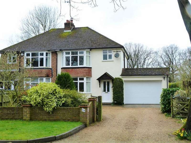 3 Bedrooms Semi Detached House for sale in Burnham Green Road, Bulls Green, Knebworth