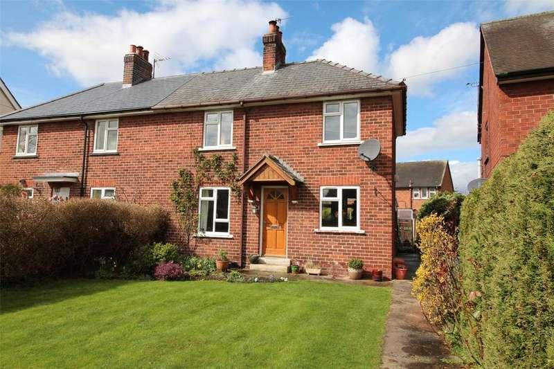 2 Bedrooms Semi Detached House for sale in Greenfields, Burton, Nr Rossett, Wrexham, LL12