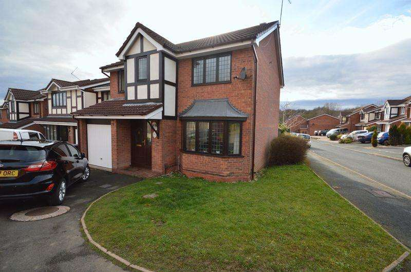 4 Bedrooms Detached House for sale in Swansmede Way, Telford