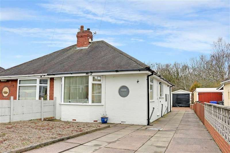 2 Bedrooms Semi Detached Bungalow for sale in Parkhead Crescent, Weston Coyney, Stoke-on-Trent