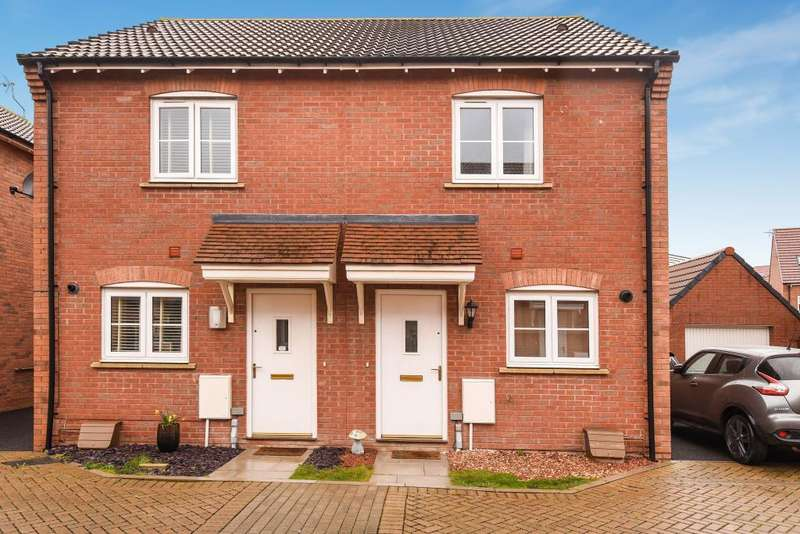 2 Bedrooms House for sale in Hawthorn Place, Great Western Park, OX11