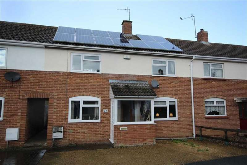 3 Bedrooms Terraced House for sale in Canterbury Leys, Newtown, Tewkesbury, Gloucestershire