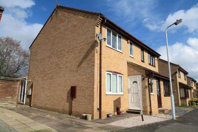 3 Bedrooms End Of Terrace House for sale in Luttrell Close, Priorswood, taunton TA2