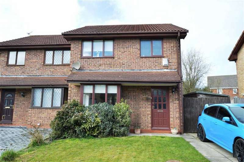 3 Bedrooms Semi Detached House for sale in Tanworth Grove, CH46