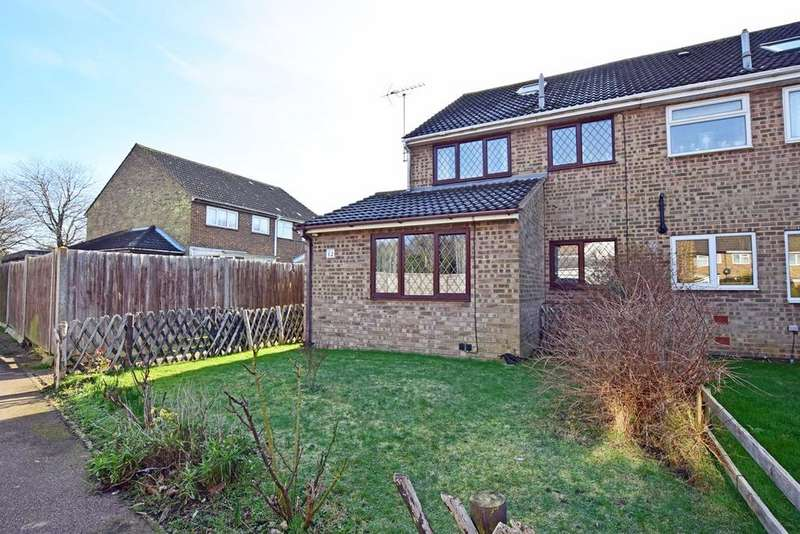 3 Bedrooms End Of Terrace House for sale in Kenyon Walk, Wigmore, ME8