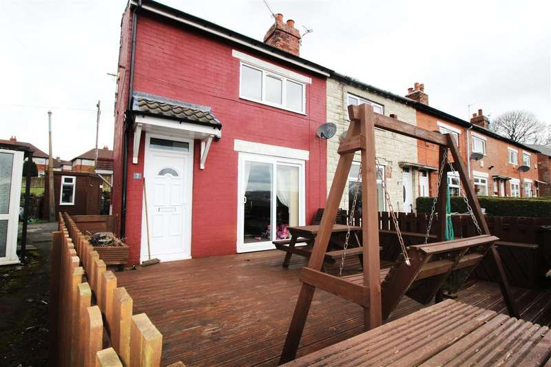 2 Bedrooms End Of Terrace House for sale in Laurel Crescent, Halifax