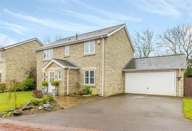 4 Bedrooms Detached House for sale in Hunters Close, Medomsley, Consett, Durham