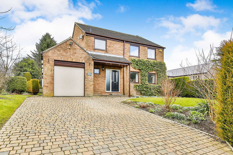 4 Bedrooms Detached House for sale in The Garth, Medomsley, Consett, DH8