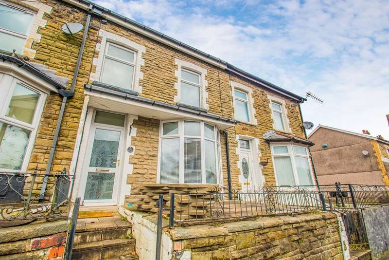 2 Bedrooms Terraced House for sale in Mcdonnell Road, Bargoed