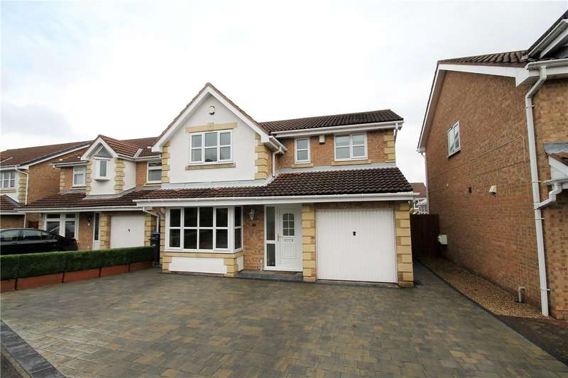 4 Bedrooms Detached House for sale in Lesbury Close, Chester le Street, County Durham, DH2