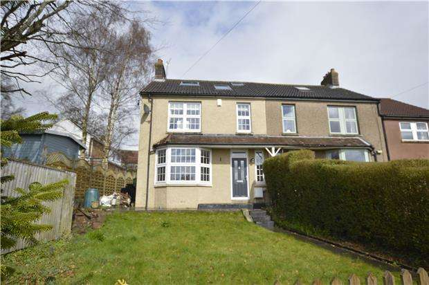 4 Bedrooms Semi Detached House for sale in Church Road, Winterbourne Down