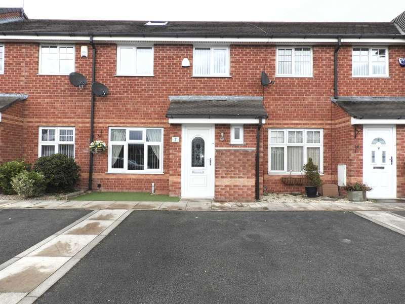 3 Bedrooms Terraced House for sale in Pondwater Close, Kirkby