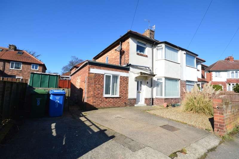 3 Bedrooms Semi Detached House for sale in Vernon Grove, Scarborough, YO12 6DP