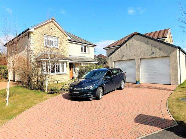 4 Bedrooms Detached House for sale in Scott Court, Crossgates, KY4