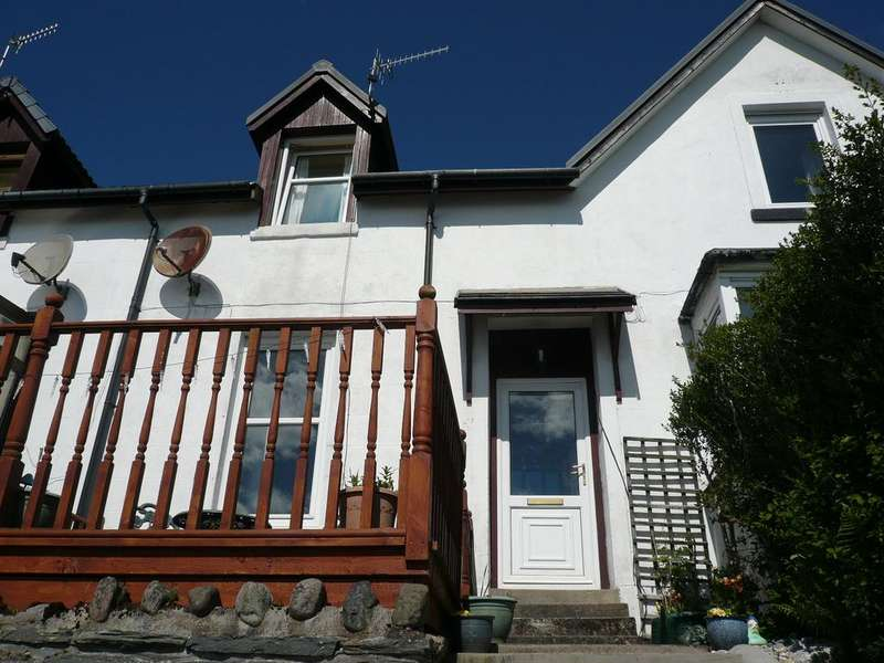 2 Bedrooms Terraced House for sale in Ellabank, Knockamillie Terrace, Dunoon, PA23 7SZ