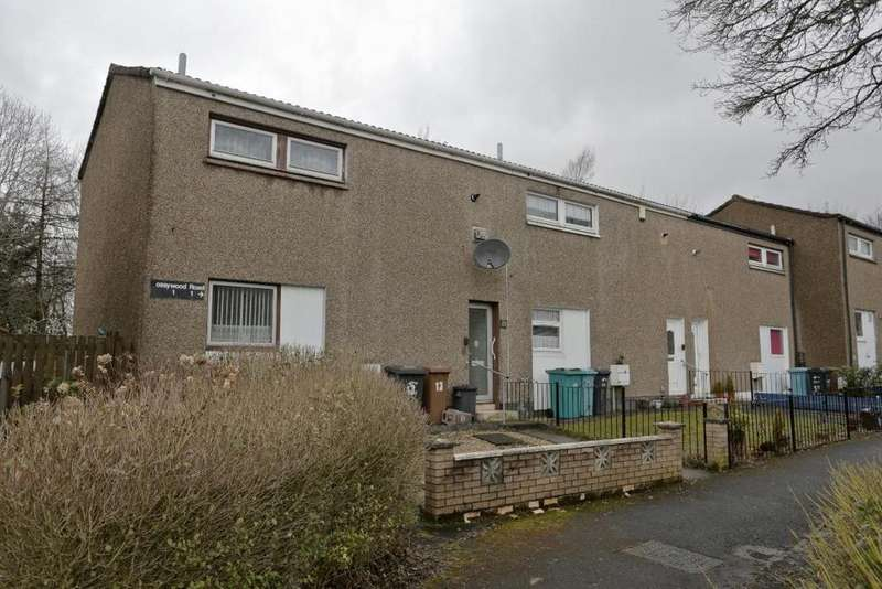 2 Bedrooms End Of Terrace House for sale in 13 Mossywood Road, Glasgow, G68 9DY