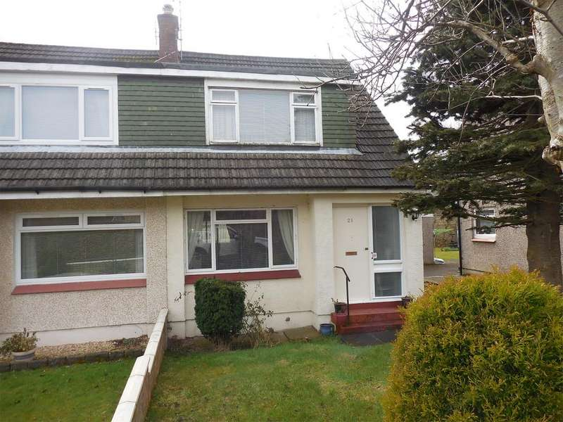 3 Bedrooms Semi Detached Bungalow for sale in 21 Croftpark Road, Clydebank, G81 6NN