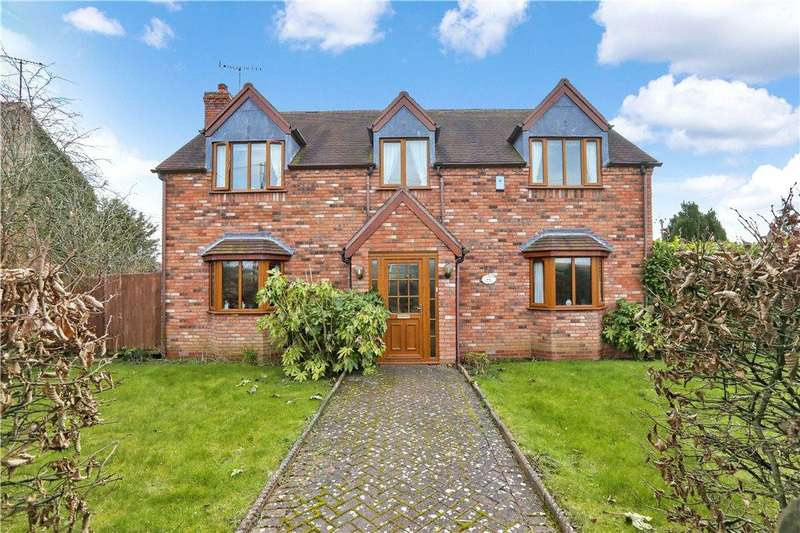 4 Bedrooms Detached House for sale in Droitwich Road, Hanbury, Bromsgrove, Worcestershire, B60