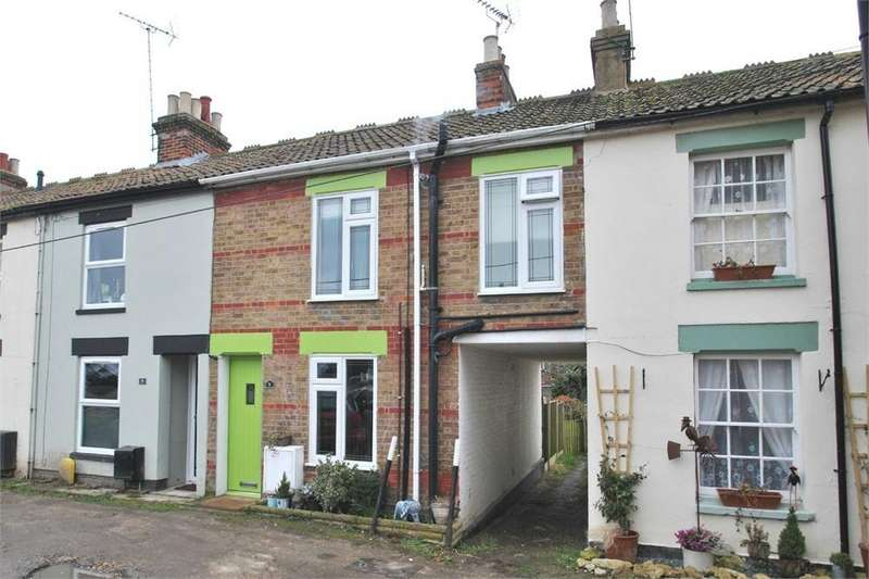 2 Bedrooms Terraced House for sale in Spencer Square, BOCKING, Braintree, Essex