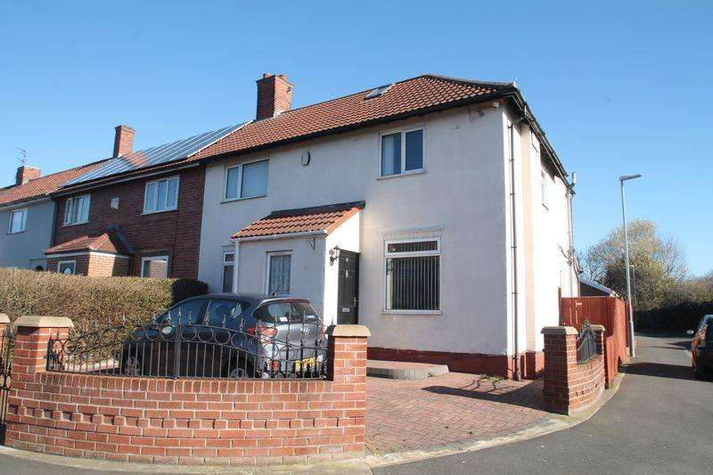 4 Bedrooms End Of Terrace House for sale in Teesdale Avenue, Billingham