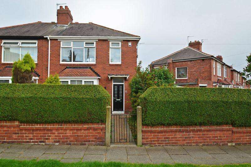 3 Bedrooms Semi Detached House for sale in Willoughby Road, North Shields