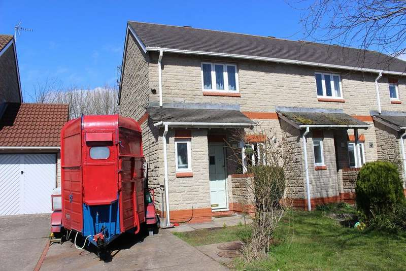 2 Bedrooms End Of Terrace House for sale in Llys Dwynwen, Llantwit Major, CF61