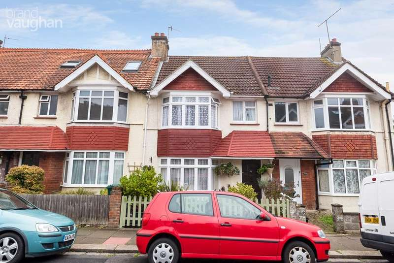 3 Bedrooms Terraced House for sale in Hollingdean Terrace, Brighton, BN1