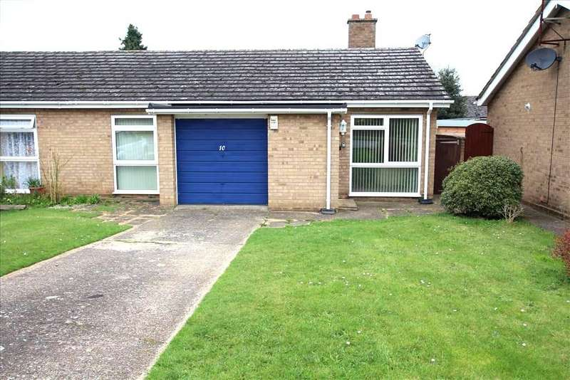 2 Bedrooms Semi Detached Bungalow for sale in School Close, Gamlingay, Sandy, SG19