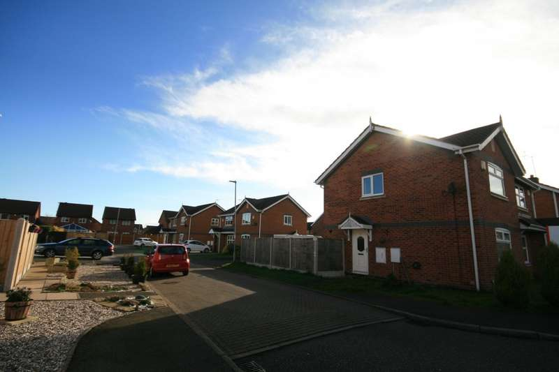 2 Bedrooms Semi Detached House for rent in Kestrel Drive, Coppenhall CW1