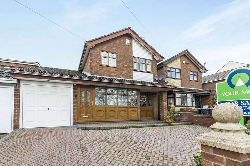 4 Bedrooms Detached House for sale in Old Road, Ashton-In-Makerfield, Wigan, WN4