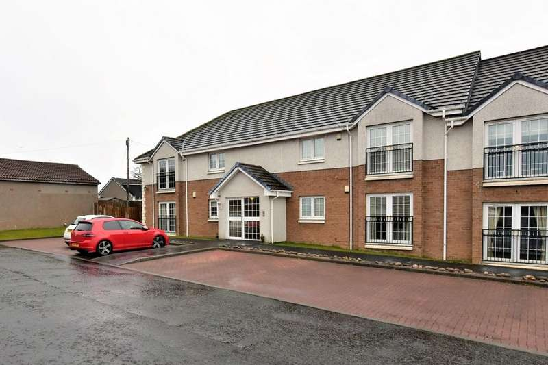 2 Bedrooms Flat for sale in Coronation Court, Motherwell, ML1