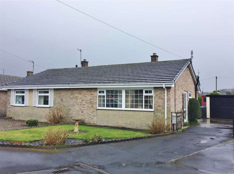 2 Bedrooms Bungalow for sale in Rowedale Close, Hunmanby